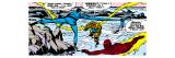 Marvel Comics Retro: Fantastic Four Comic Panel, Fantastic Four Family Prints