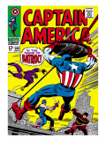 Marvel Comics Retro: Captain America Comic Book Cover No.105, Batroc Prints