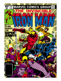 Marvel Comics Retro: The Invincible Iron Man Comic Book Cover 127, Against the Super-Army! Prints
