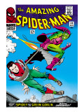 Marvel Comics Retro: The Amazing Spider-Man Comic Book Cover 39, Green Goblin Prints