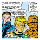 Marvel Comics Retro: Fantastic Four Comic Panel, Mr. Fantastic, Invisible Woman, Thing Poster