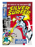 Marvel Comics Retro: Silver Surfer Comic Book Cover No.7 Poster