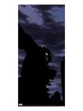 Duncan Fegredo - Ultimate Adventures No.2 Cover: Hawk-Owl Crouching Reprodukce na plátně