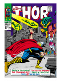 Marvel Comics Retro: The Mighty Thor Comic Book Cover No.143, Sif Prints