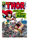 Marvel Comics Retro: The Mighty Thor Comic Book Cover 128, Hercules Print