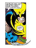 Marvel Comics Retro: X-Men Comic Panel, Wolverine Prints