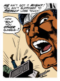 Marvel Comics Retro: Luke Cage, Hero for Hire Comic Panel Art