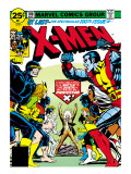 Marvel Comics Retro: The X-Men Comic Book Cover 100, Professor X Prints