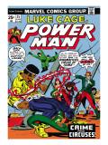 Marvel Comics Retro: Luke Cage, Hero for Hire Comic Book Cover No.25, Crime and Circus Prints