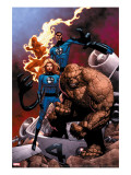 Fantastic Four Special #1 Cover: Mr. Fantastic Reproduccin en lienzo de la lmina por Jones Casey