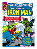Marvel Comics Retro: The Invincible Iron Man Comic Book Cover 54, Mandarin's Revenge! Poster