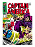 Marvel Comics Retro: Captain America Comic Book Cover No.108, the Trapster Poster