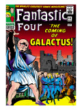 Marvel Comics Retro: Fantastic Four Family Comic Book Cover No.48, The Coming of Galactus Prints