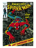 Marvel Comics Retro: The Amazing Spider-Man Comic Book Cover 100, 100th Anniversary Issue Prints
