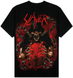 Slayer -  Soldier and Globe T-Shirt