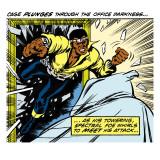 Marvel Comics Retro: Luke Cage, Hero for Hire Comic Panel Kunstdrucke