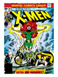 Marvel Comics Retro: The X-Men Comic Book Cover 101, Phoenix, Storm, Nightcrawler, Cyclops Prints