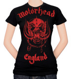 Juniors: Motorhead - Red England Shirts