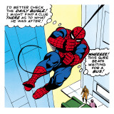 Marvel Comics Retro: The Amazing Spider-Man Comic Panel Posters