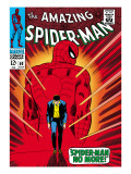 Marvel Comics Retro: The Amazing Spider-Man Comic Book Cover #50, Spider-Man No More! Lmina