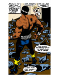 Marvel Comics Retro: Luke Cage, Hero for Hire Comic Panel Láminas