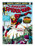 Marvel Comics Retro: The Amazing Spider-Man Comic Book Cover No.153, The Deadliest Hundred Yards Art