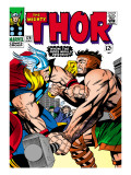 Marvel Comics Retro: The Mighty Thor Comic Book Cover 126, Hercules Posters