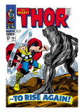 Marvel Comics Retro: The Mighty Thor Comic Book Cover 151 --To Rise Again! Poster