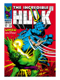 Marvel Comics Retro: The Incredible Hulk Comic Book Cover No.110, with Umbu the Unliving Print