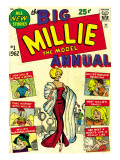 Marvel Comics Retro: Millie the Model Comic Book Cover No.1, the Big Annual Prints