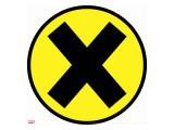 Logo: X-Men Stretched Canvas Print