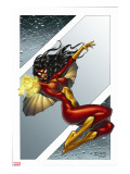 Giant-Size Spider-Woman No.1 Cover: Spider Woman Stretched Canvas Print by Andrea Di Vito