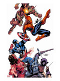 Marvel Knights Spider-Man No.2 Cover: Spider-Man Stretched Canvas Print by Terry Dodson