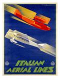 Alitalia Italian Airlines Poster Prints