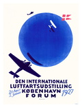 Den Internationale Luftfartsudstilling Affiches