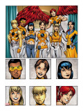 New X-Men: Academy X Yearbook Group: Prodigy Stretched Canvas Print by Jeanty Georges