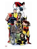 Essential X-Men V3: Shadowcat Reproduction transférée sur toile par Byrne John