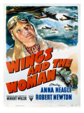 Wings and the Woman Movie Poster Reprodukce