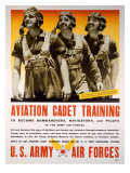 WWII AAF Cadet Training Poster Art