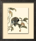 Oriental Bird on Branch IV Posters