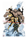 Young X-Men No.1 Cover: Cyclops Stretched Canvas Print by Terry Dodson