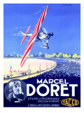 Marcel Doret Aviation Expo Poster Giclee Print