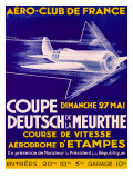 Aero Club France Air Race Poster Giclee Print
