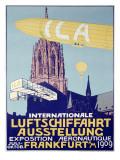 German Airship Dirigible Show Poster Posters