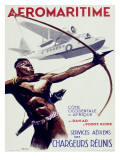 Aeromaritime Aviation Poster Print