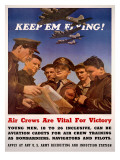 WWII US AAF 'Keep'em Flying' Posters