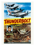 WWII James Stewart AAF Thunderbolt Posters
