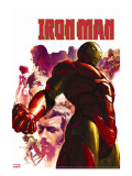 Iron Man No.15 Cover: Iron Man, Hulk, Thor, Stark and Tony Stretched Canvas Print by Parel Gerald