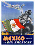 Pan American Mexico Tomorrow Poster Posters
