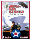 WWI Join the US Army Air Service Posters
